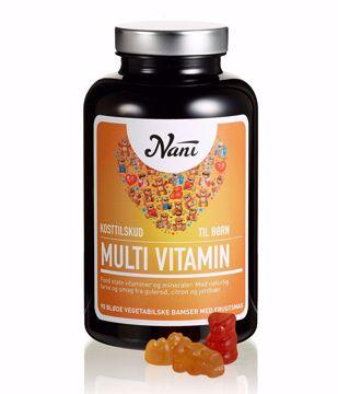 Nani Multi vitamin børn 90 bamser