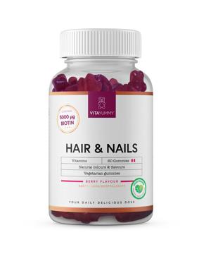 Vitaymmy Hair & Nails 60 Gummies