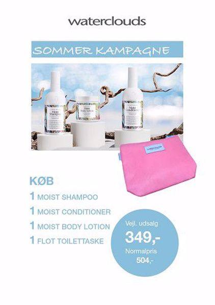 Waterclouds Sommer Kampagne 2021
